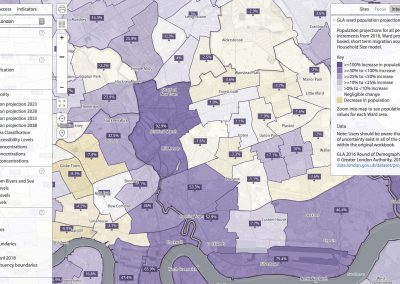 Specific Greater London layers